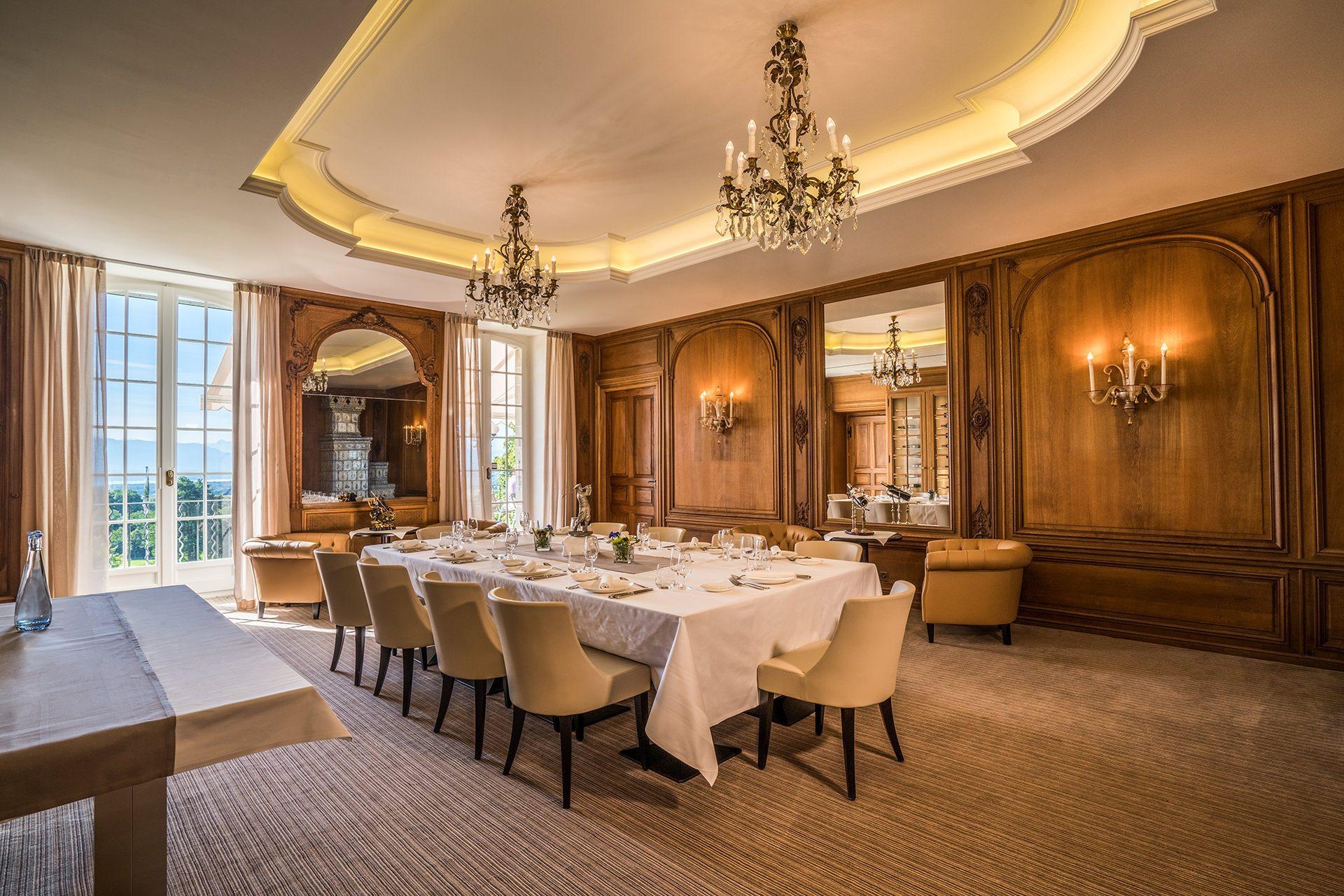 Restaurant golf country club de bonmont for Restaurant salle a manger tunis