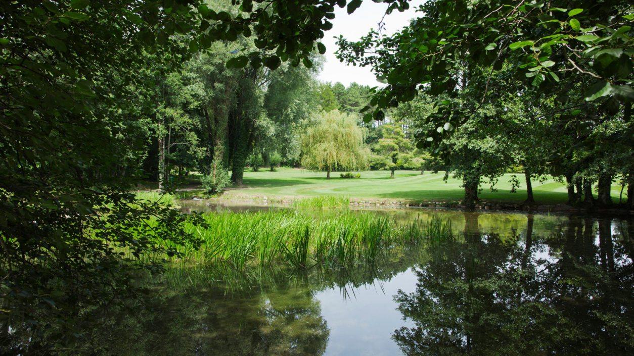 verdure parc château de Bonmont