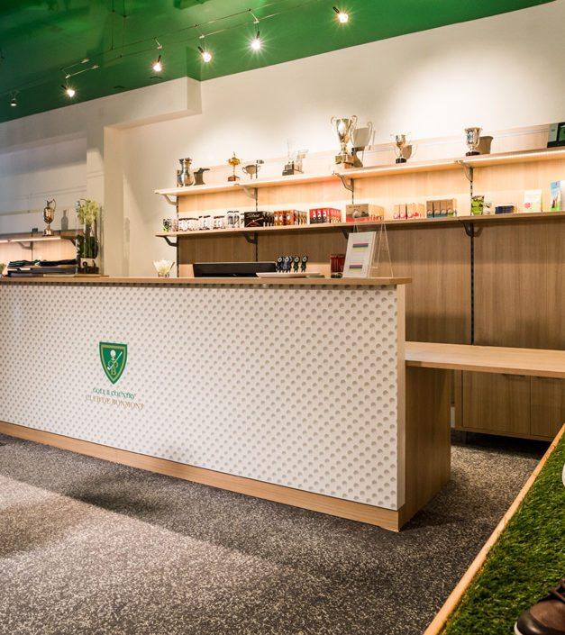 magasin club de golf proshop Bonmont