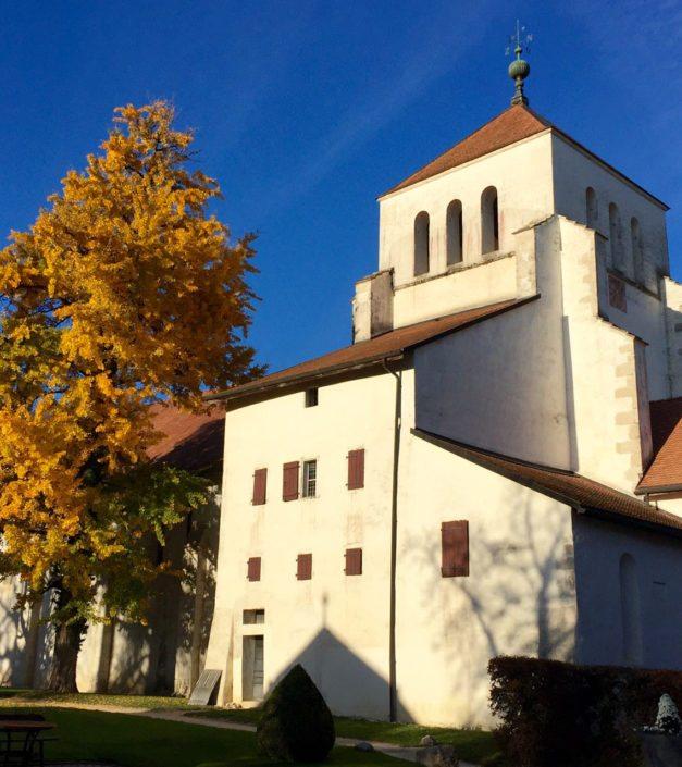 Photo automne Abbaye de Bonmont