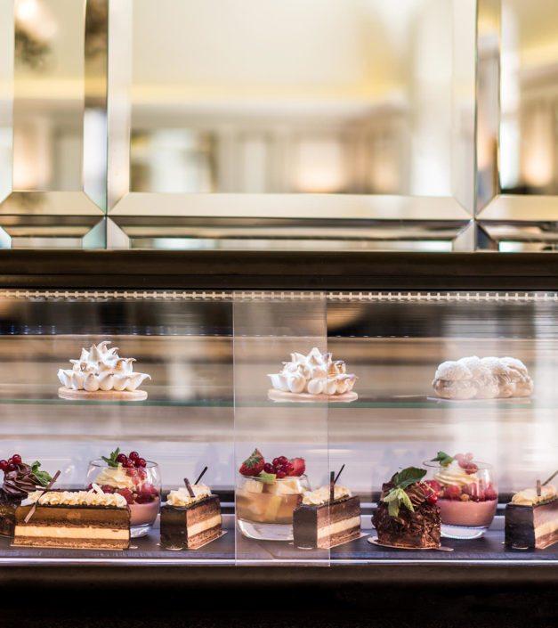 buffet de desserts faits maison Bonmont restaurant
