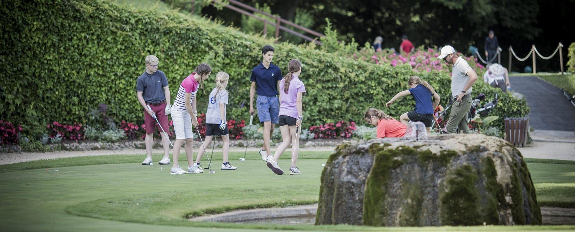 ecole de golf château de Bonmont