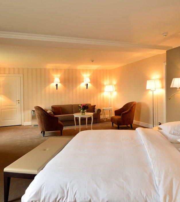 Junior suite hotel château de Bonmont