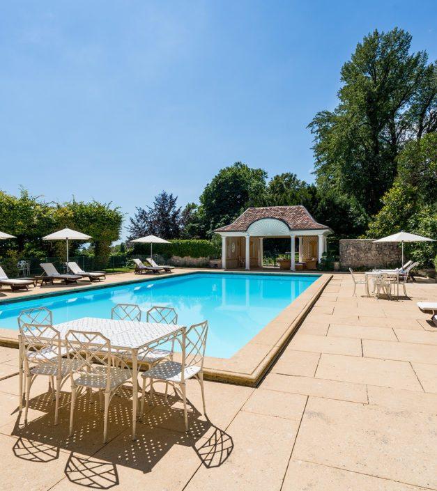 piscine extérieur Bonmont