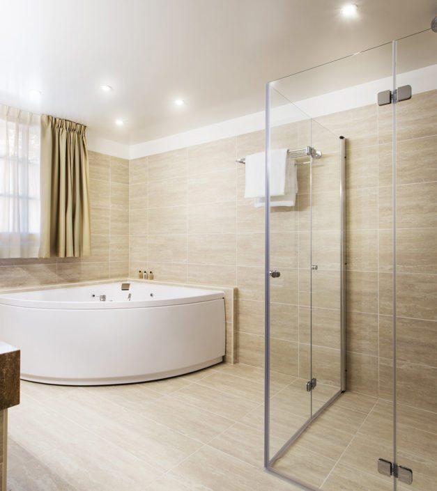 detail salle de bain hotel Bonmont