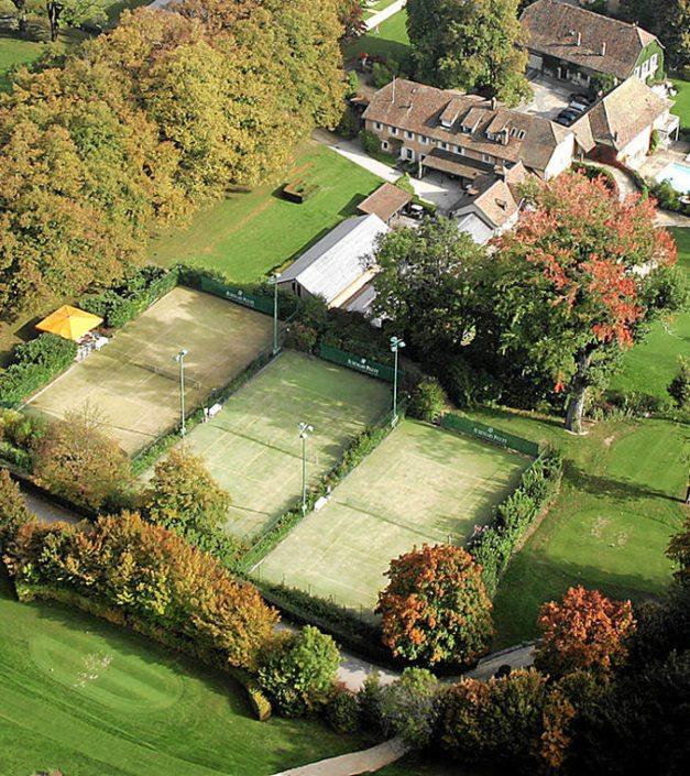 activité tennis terrain Bonmont