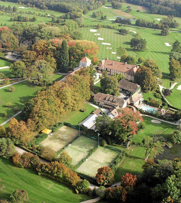 photo prise de vue en drone Bonmont
