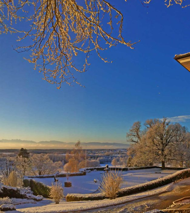 Bonmont hiver neige