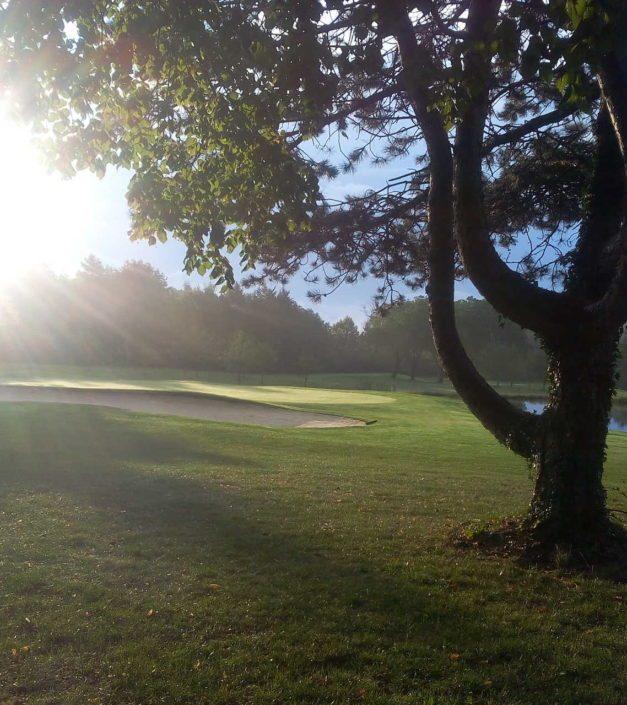 Lever de soleil photo golf domaine Golf & Country Club Bonmont