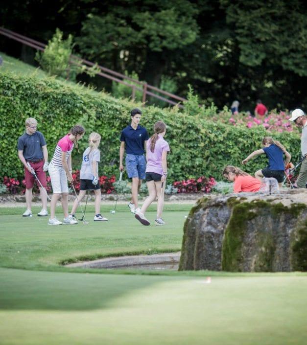 ecole de golf pour enfants cours Golf & Country Club de Bonmont