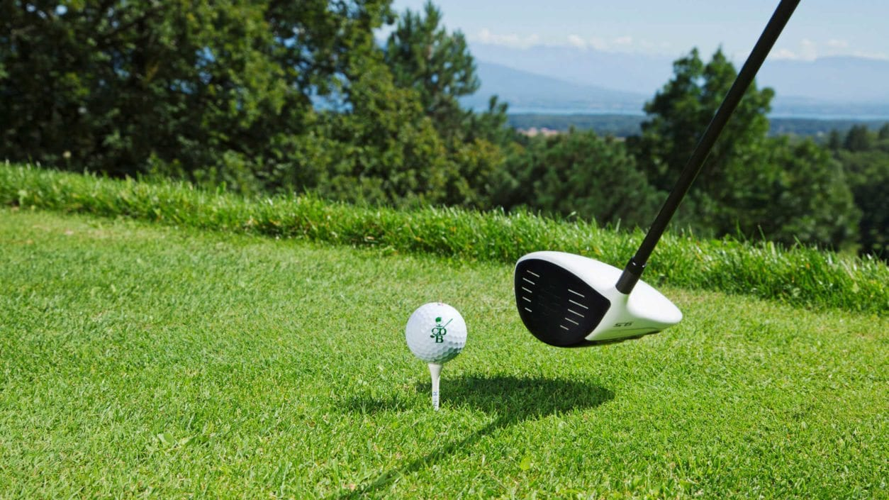 golf club Bonmont balle de golf logo Bonmont