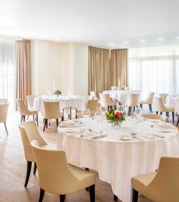 tables cérémonie banquets Bonmont