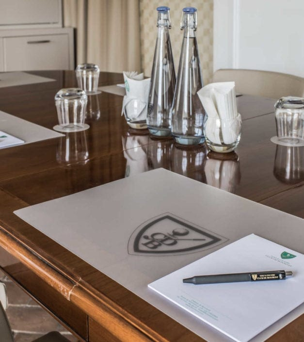 détail conférence meeting château de Bonmont