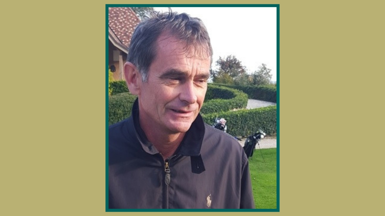Yves Radal professeur Golf responsable section Juniors Bonmont
