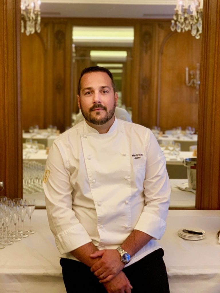 photo officielle nouveau chef Julien Martineau Bonmont