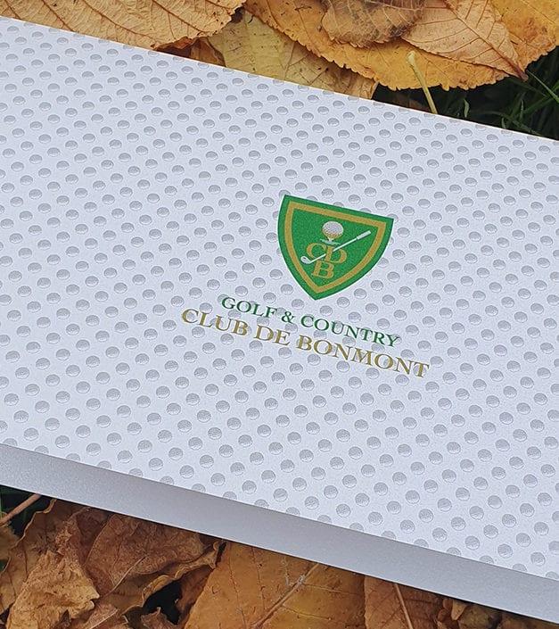 Gift voucher expérience golf Bonmont
